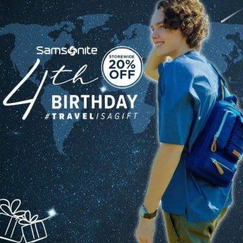 House-of-Samsonite-Online-Birthday-Special-Promotion-350x350 15 Mar 2021 Onward: House of Samsonite Online Birthday Special Promotion