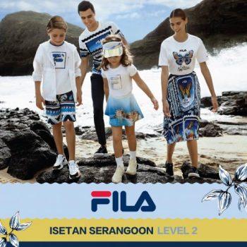 ISETAN-Serangoon-FILA-Sale--350x350 27 Feb 2021 Onward: ISETAN  Serangoon FILA Sale