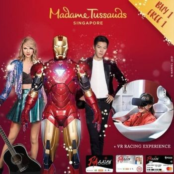 Madame-Tussauds-1-for-1-Deal-with-PAssion-Card-350x350 26 Feb-19 Mar 2021: Madame Tussauds 1-for-1 Deal with PAssion Card