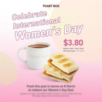 Toast-Box-International-Womens-Day-Promotion-350x350 8 March 2021: Toast Box International Women's Day Promotion