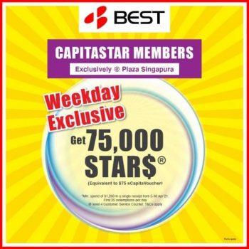 BEST-Denki-Weekday-Exclusive-Promotion-350x350 10 Apr-3 May 2021: BEST Denki Weekday Exclusive Promotion at Plaza Singapura