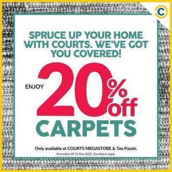 COURTS-20-Off-Carpet-Sale-350x350 13 Apr-31 May 2021: COURTS 20% Off Carpet Sale
