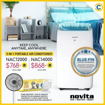 COURTS-3-In-1-Portable-Air-Conditioner-Promotion-350x350 19 Apr 2021 Onward: Novita 3-In-1 Portable Air-Conditioner Promotion at COURTS