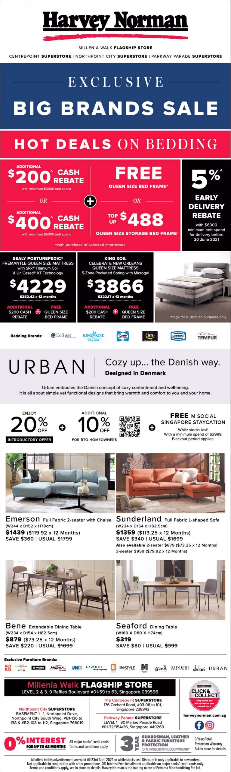 Furniture-Bedding_16-April-2021-scaled 19-23 Apr 2021: Harvey Norman Exclusive Bid Brand Sale! Up to 65% OFF!