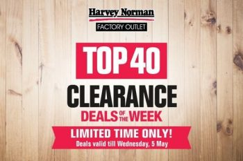 Harvey-Norman-Top-40-Clearance-Deals-of-the-Week-350x233 30 Apr-5 May 2021: Harvey Norman Top 40 Clearance Deals of the Week