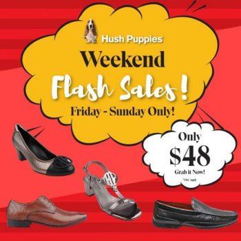 Hush-Puppies-Weekend-Flash-Sales-350x350 9-11 Apr 2021: Hush Puppies Weekend Flash Sales