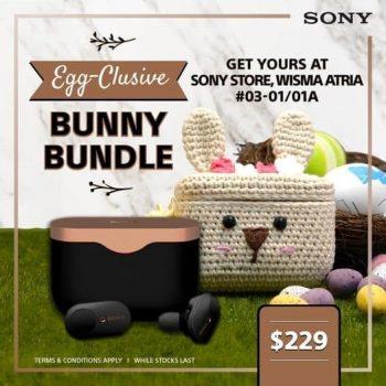 Isetan-Egg-clusive-Bunny-Bundle-Promotion-350x350 12 Apr 2021 Onward: Sony Egg-clusive Bunny Bundle Promotion at Isetan, Wisma Atria