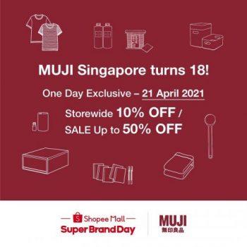 MUJI-Super-Brand-Day-Sale-on-Shopee-350x350 19-21 Apr 2021: MUJI Super Brand Day Sale on Shopee