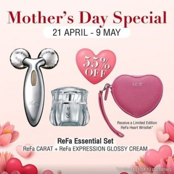 ReFa-Mothers-Day-Special-Promotion-350x350 22 Apr-9 May 2021: ReFa Mother's Day Special Promotion