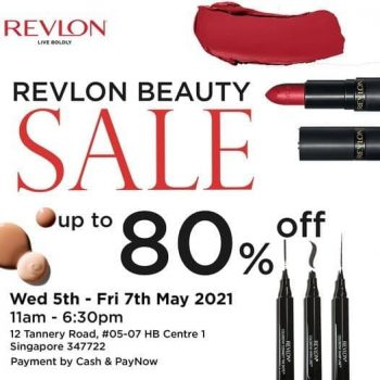 Revlon-Beauty-Sale-350x350 5-7 May 2021: Revlon Beauty Warehouse Sale at Tannery Road! Up to 80% OFF Cosmetics & Hair Products!