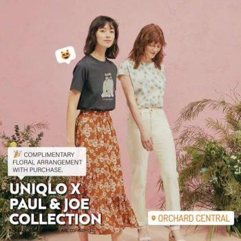 ShopFarEast-Uniqlo-X-Paul-Joe-Collection-Promotion-350x350 2-4 Apr 2021: Uniqlo and Paul & Joe Collection Promotion at Orchard Central with ShopFarEast