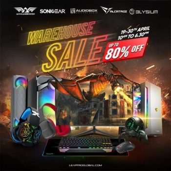 SonicGear-Warehouse-Sale-350x350 19-30 Apr 2021: SonicGear Warehouse Sale at Kallng Sector