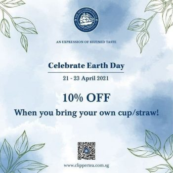 THE-1872-CLIPPER-TEA-CO.-Earth-Day-Promotion-350x350 21-23 Apr 2021: THE 1872 CLIPPER TEA CO. Earth Day Promotion