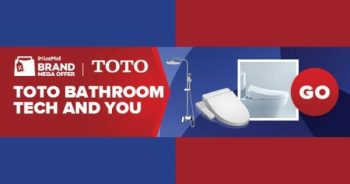 TOTO-BMOT-Special-Sale-at-w.atelier--350x184 26 Apr 2021 Onward: TOTO BMOT Special Sale at Lazada