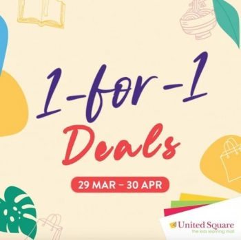 United-Square-Shopping-Mall-1-For-1-Promotion-350x349 29 March-30 Apr 2021: United Square Shopping Mall 1 For 1 Promotion
