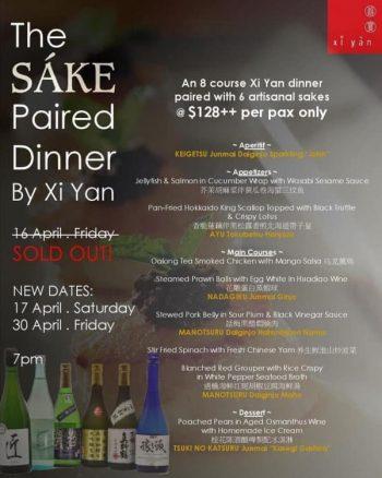 Xi-Yan-SG-Sake-Paired-Dinner-Promotion-350x438 17-30 Apr 2021: Xi Yan SG Sake Paired Dinner Promotion