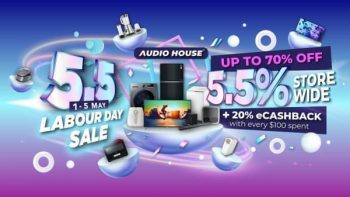 Audio-House-Labour-Day-Sale-350x197 1-5 May 2021: Audio House Labour Day Sale