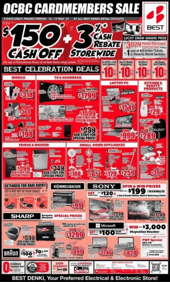 BEST-Denki-OCBC-Cardmembers-Sale--350x578 13-17 May 2021: BEST Denki OCBC Cardmembers Sale