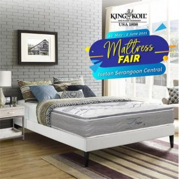 Isetan-Serangoon-King-Koil-Mattress-Fair-Sale--350x350 22 May-2 Jun 2021: Isetan Serangoon King Koil Mattress Fair Sale