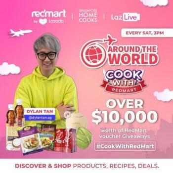 Singapore-Home-Cooks-RedMart-Vouchers-Promotion-350x350 1 May 2021 Onward: Singapore Home Cooks RedMart Vouchers Promotion at Lazada