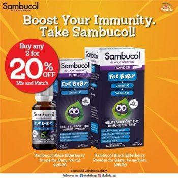 VitaKids-Sambucol-Baby-Promotion-350x350 13-31 May 2021: VitaKids Sambucol Baby Promotion