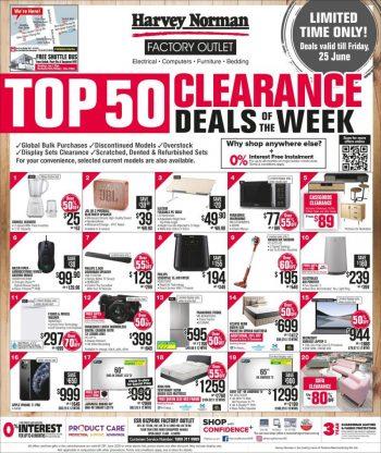 Harvey-Norman-Top-50-Clearance-Sale--350x416 21-25 Jun 2021: Harvey Norman Top 50 Clearance Sale
