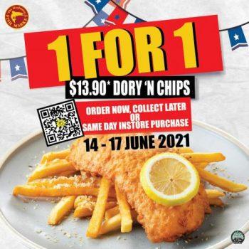 Manhattan-Fish-Market-1-For-1-Dory-N-Chips-Promotion--350x350 14-17 Jun 2021: Manhattan Fish Market 1 For 1 Dory N Chips Promotion