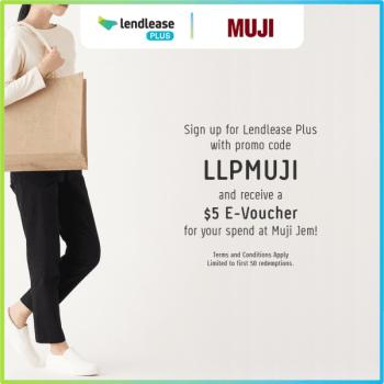 Muji-E-Voucher-promotion-at-Jem--350x350 11 Jun 2021 Onward: Muji Jem E-Voucher promotion with Lendlease Plus