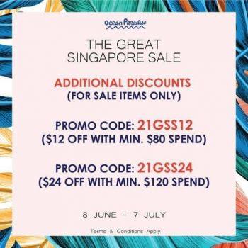 Ocean-Paradise-Great-Singapore-Sale-350x350 8 Jun-7 Jul 2021: Ocean Paradise Great Singapore Sale