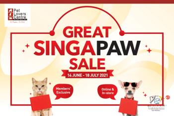 Pet-Lovers-Centre-Great-SingaPaw-Sale-350x233 14 Jun-18 Jul 2021: Pet Lovers Centre Great SingaPaw Sale