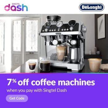 Singtel-Dash-Coffee-Machine-Promotion-350x350 14 Jun-31 Aug 2021: De'Longhi Coffee Machine Promotion with Singtel Dash