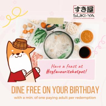 Suki-Ya-Birthday-Treat-Promotion-350x350 23-30 Jun 2021: Suki-Ya  Birthday Treat Promotion