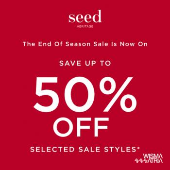 Wisma-Atria-End-of-Season-Sale--350x350 9 Jun 2021 Onward: Seed Heritage End of Season Sale at Wisma Atria
