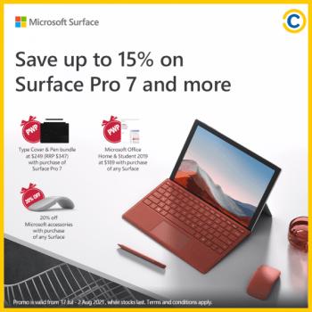 20-Jul-2021-Onward-COURTS-Tech-Sale-350x350 20 Jul 2021 Onward: Microsoft Surface Pro 7 on COURTS Tech Sale