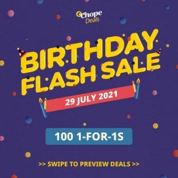 Chope-Birthday-Flash-Sale-350x350 29 July 2021: Chope Birthday Flash Sale