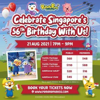 Pororo-Park-56th-Roaring-Birthday-Promotion-350x350 21 Aug 2021: Pororo Park  56th Roaring Birthday Promotion