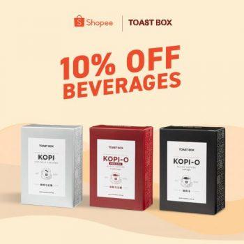 Toast-Box-Shopee-10-OFF-Promotion--350x350 26 Jul 2021 Onward: Toast Box Shopee 10% OFF Promotion