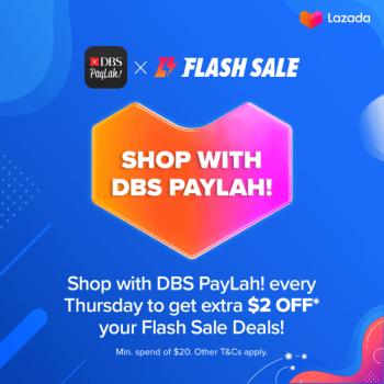 Lazada-Flash-Sale-350x350 16 Sep 2021 Onward: Lazada Flash Sale with DBS PayLah
