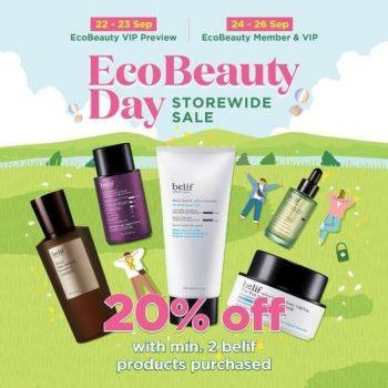 belif-EcoBeauty-Day-Storewide-Sale-350x350 24-26 Sep 2021: belif EcoBeauty Day Storewide Sale