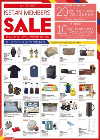 Isetan-Katong-Members-Clearance-Sale-350x492 16-22 Oct 2021: Isetan Katong Members Clearance Sale